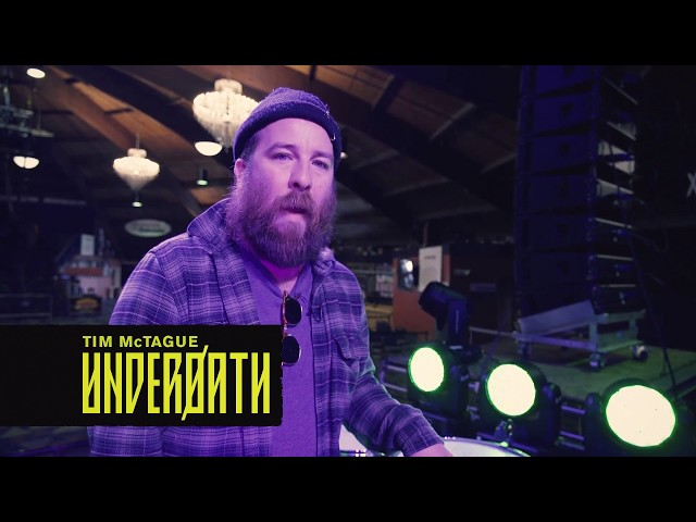 Underoath on Tour with the Alesis SamplePad Pro