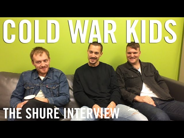 Cold War Kids - The Shure Interview