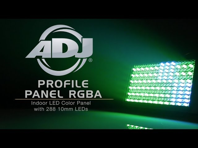 ADJ Profile Panel RGBA