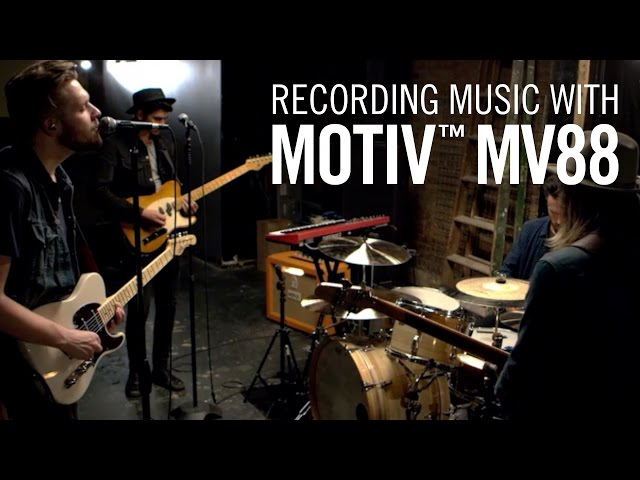 Recording Music with Shure MOTIV™ MV88 iOS Microphone - Tall Walker