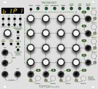 Tiptop Audio Trigger Riot Sequencer White по цене 37 010 ₽