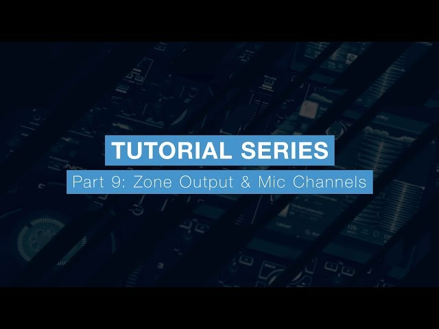 Denon DJ Prime 4 Tutorial Part Nine – Zone Output & Mic Channels