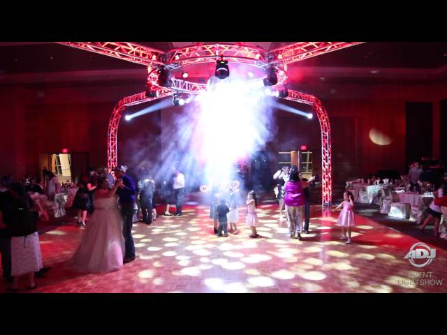 ADJ Event Lightshow: Wedding Wow-Factor  - Gotta-B Sound & Lights