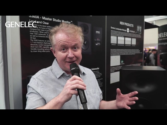 #NAMM2019 | What are the key features of the Genelec S360 high-SPL SAM monitor?