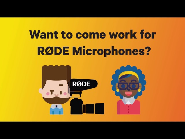 Win an All-Expenses-Paid Job at RØDE HQ in Sydney, Australia!
