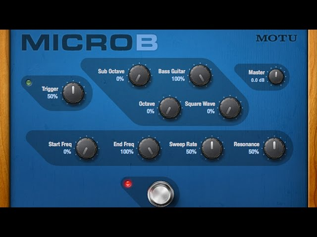 MicroB™ Polyphonic octave generator for bass