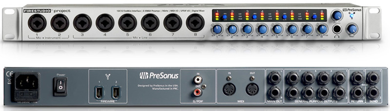 PRESONUS FIRESTUDIO PROJECT UNIVERSAL CONTROL WINDOWS 8 DRIVERS DOWNLOAD (2019)