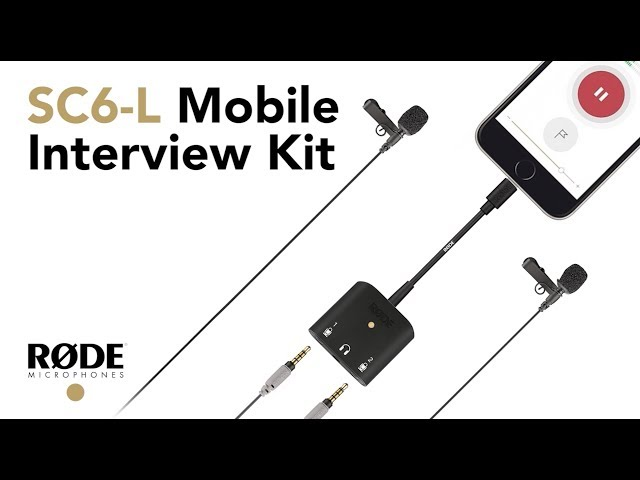 Introducing the SC6-L Mobile Interview Kit