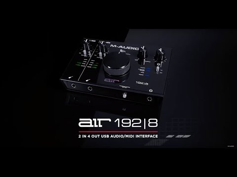 Introducing the M-Audio Air 192|8