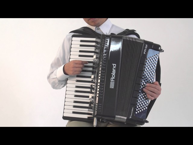 "Roland FR-4x/FR-4xb V-Accordion ""Playing Non-Accordion Sounds (For Left-Hand)"""