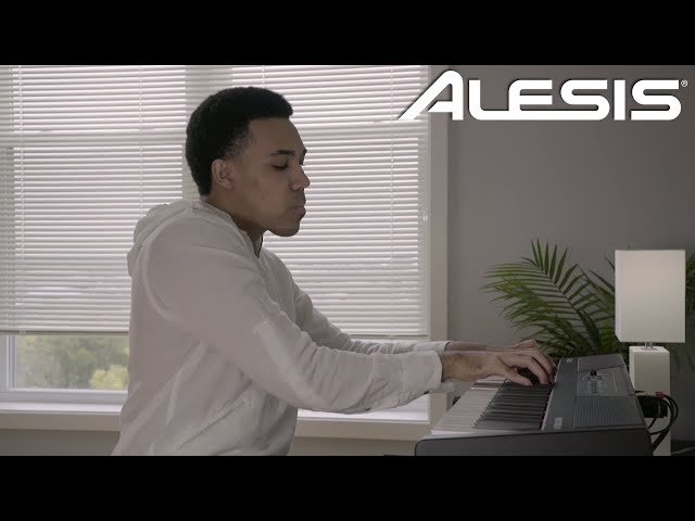 Introducing the Alesis Recital 61 Digital Piano