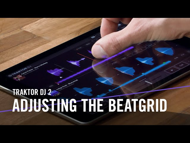 TRAKTOR DJ 2: Adjusting the Beatgrid | Native Instruments