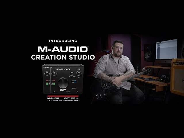 M-Audio Creation Studio  - Recording Electric Guitars with Pro Tools First
