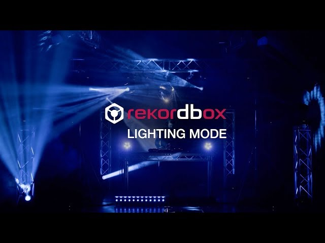 Pioneer DJ RB-DMX1 & rekordbox Lighting mode Official Introduction