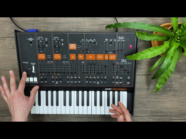 Patch of the week 37: ARP Odyssey – Fun with Filters and Drive