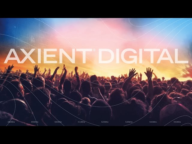 Shure Axient Digital Product Video