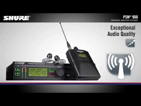 Shure PSM 900 Product Overview