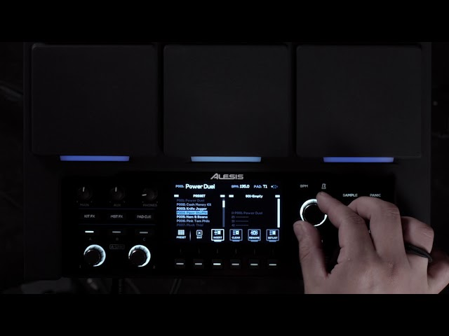 Alesis Strike MultiPad Feature Update v1.2 - Setlist Mode Overview