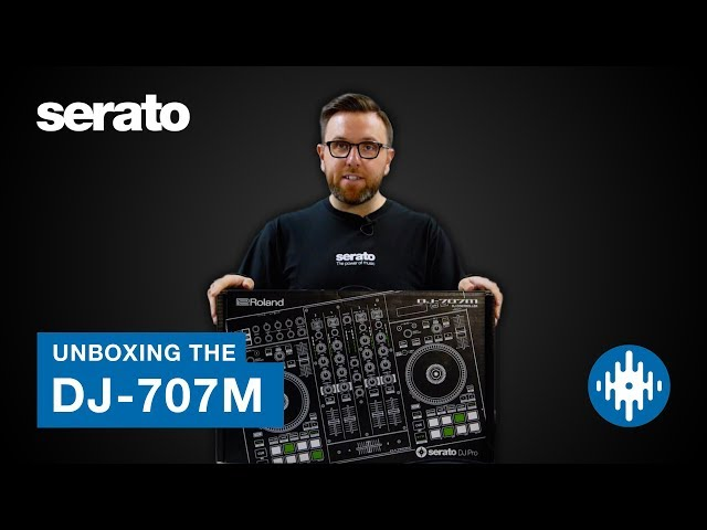 Roland DJ-707M Unboxing | First Look with Serato