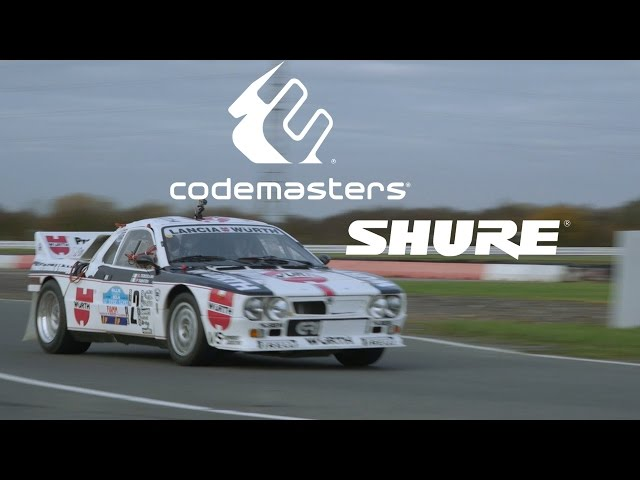 Codemasters uses Shure mics to capture car audio for DiRT Rally video game