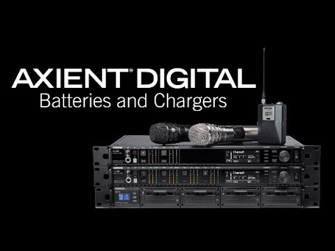 Shure Axient Digital Training – Batteries and Chargers