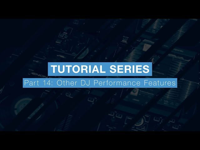 Denon DJ Prime 4 Tutorial Part Fourteen - Other DJ Performance Features