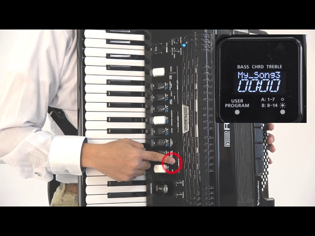 "Roland FR-4x/FR-4xb V-Accordion ""Using the USB Audio Player"""