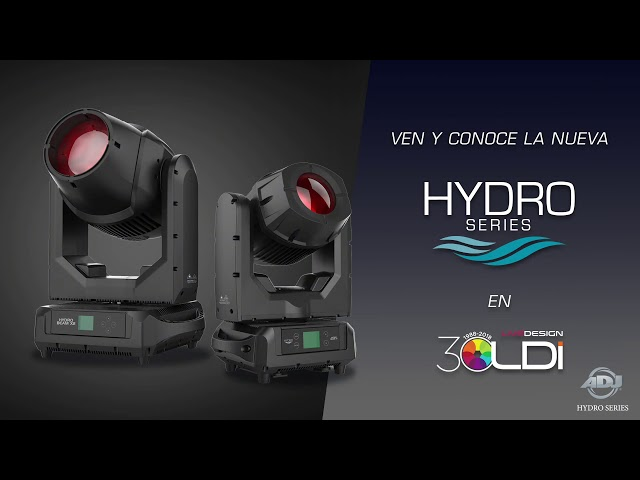 ADJ Hydro Series Sneak Peek (Español)