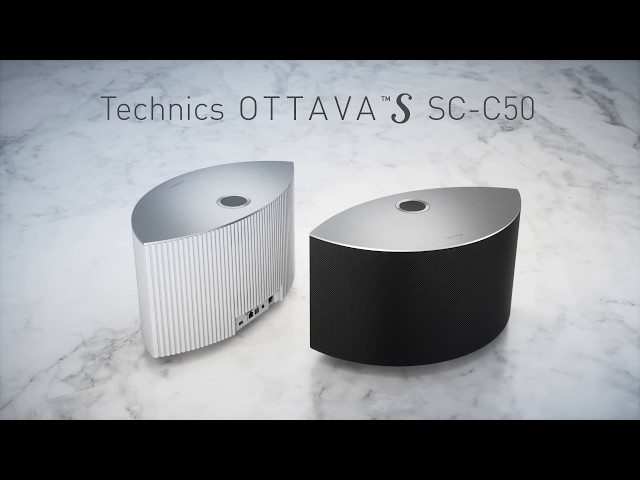 OTTAVA™ S SC-C50 Premium Wireless Speaker System