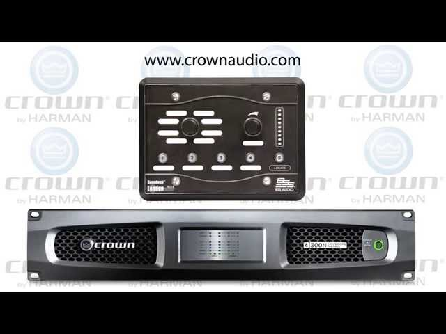 Crown DriveCore Install Network & BSS Audio BLU8v2