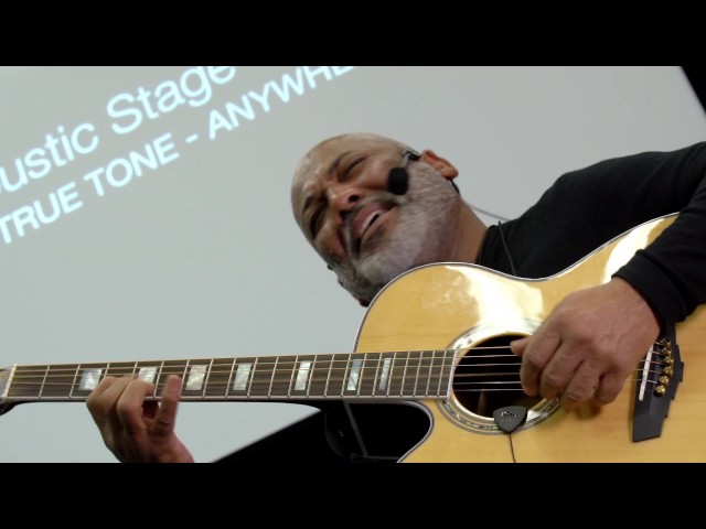 NAMM 2017 - iRig Acoustic Stage - Jonathan Butler