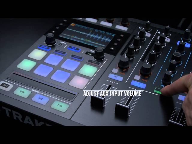 Mixing with TRAKTOR KONTROL S5: Connecting external sources