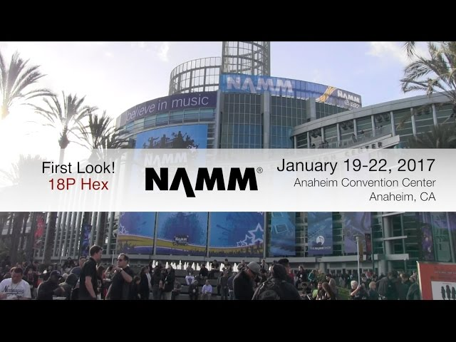 "ADJ 18P Hex ""First Look"" NAMM 2017"