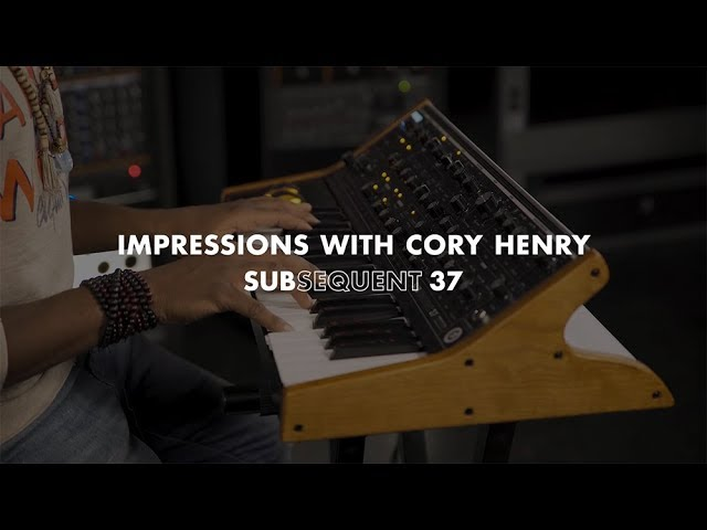 Subsequent 37 | Impressions with Cory Henry