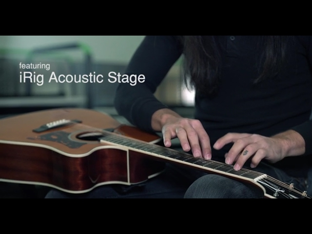 Back Stage with IK: NAMM 2017 Featuring iRig Acoustic Stage