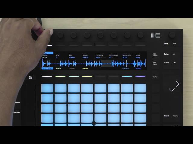 Ableton Push 2 Sampling Tutorial – Slicing Mode