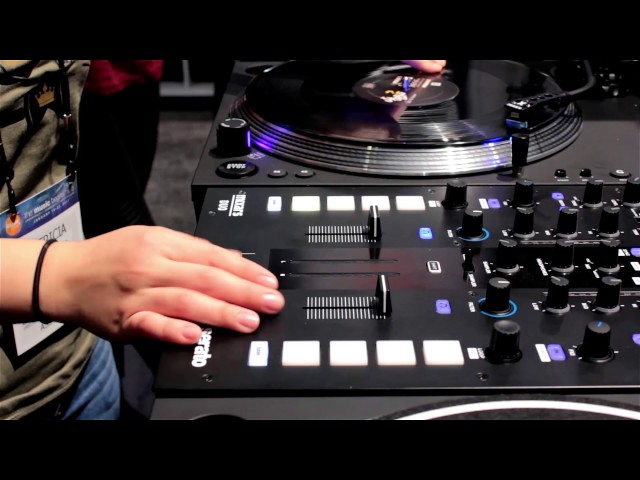 DJ Patty Clover testing Galileo at the NAMM Show