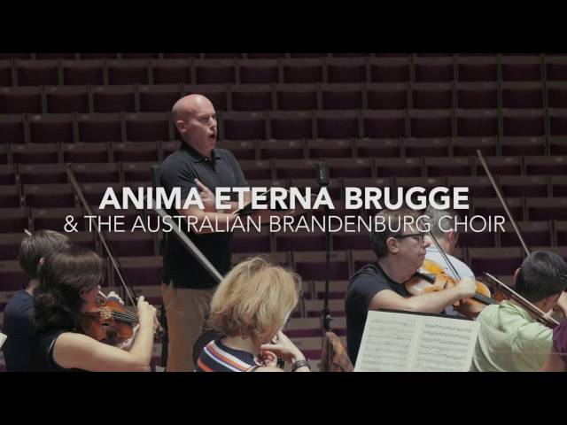 Anima Eterna Brugge - Beethoven Symphony No. 9 - Behind The Scenes