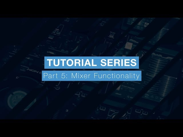 Denon DJ Prime 4 Tutorial Part Five – Mixer Functionality