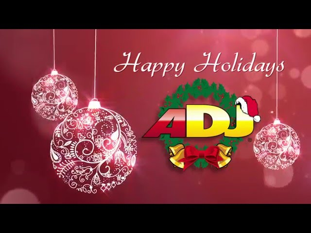 Holiday Greetings 2015 from ADJ Around the World!
