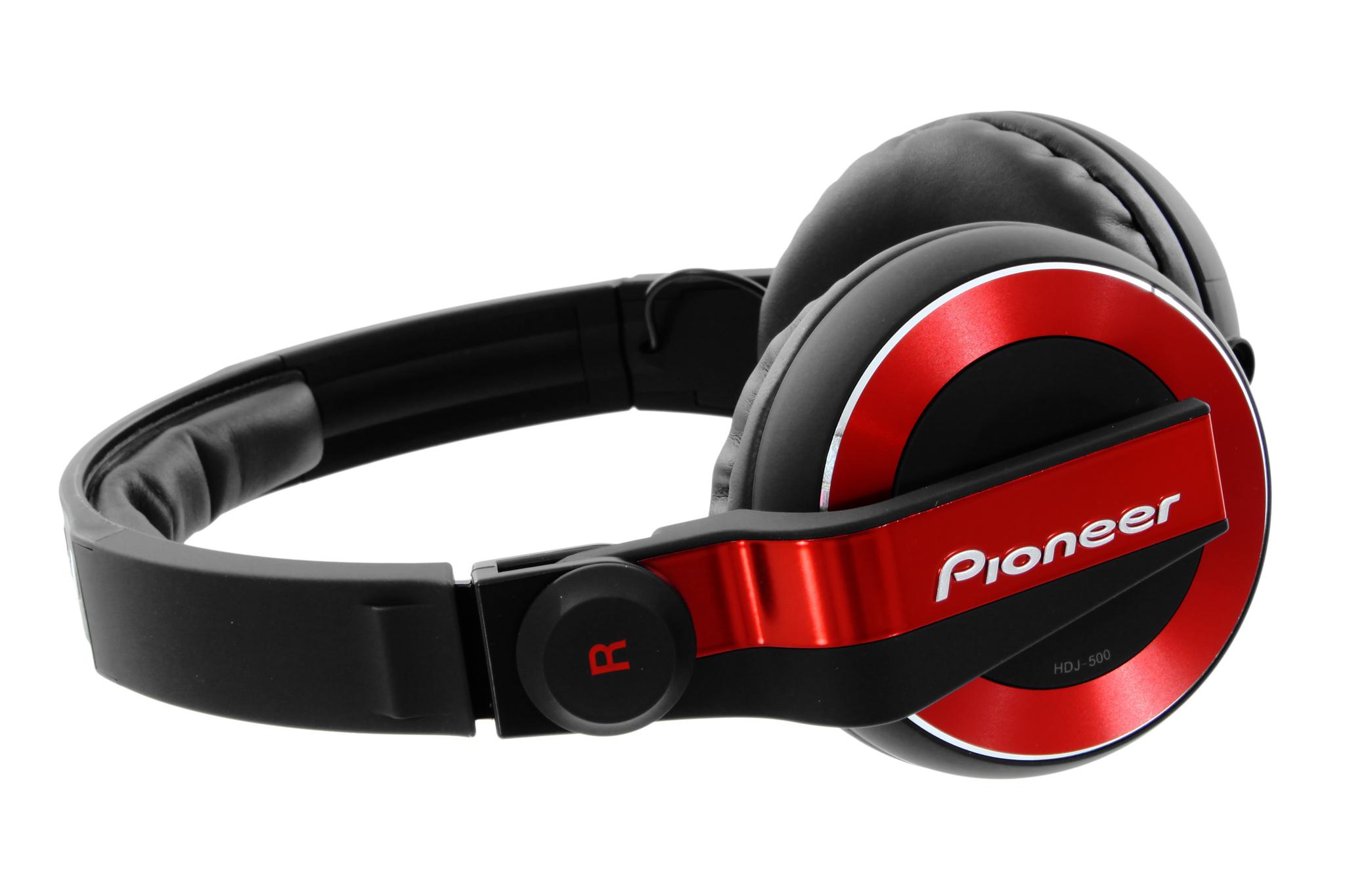 Pioneer HDJ-500-R купить DJ наушники в Москве в интернет-магазине по низкой  цене.