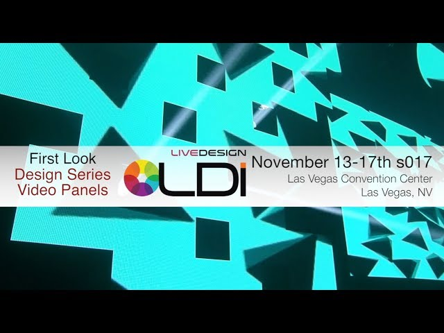 ADJ First Look! Design Series Video Panels