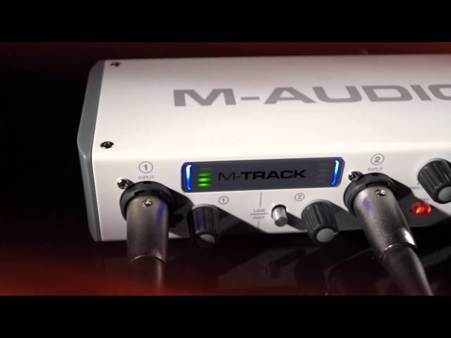 M-Audio M-Track 2-Channel USB Audio Interface