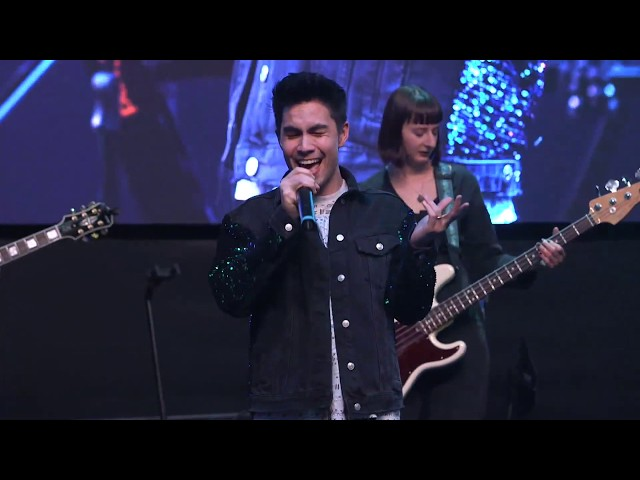 Live from the Roland Stage at #NAMM2019 with Sam Tsui!