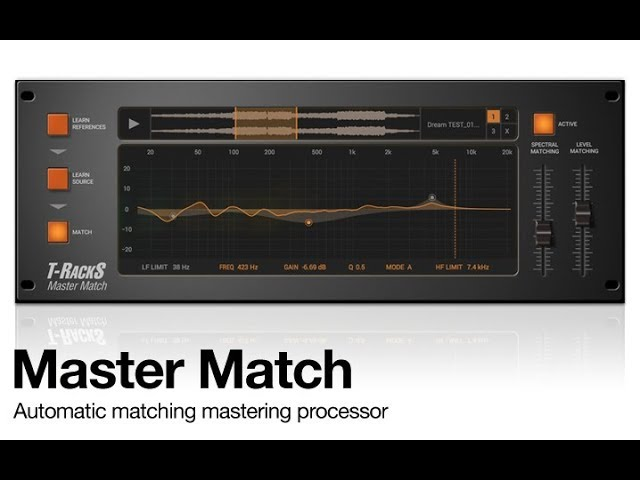 T-RackS 5 Master Match Features In-Depth