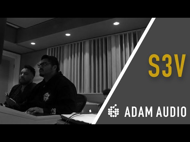 ADAM Audio S3V | In the Studio with Mix Engineer Gorge Hernandez