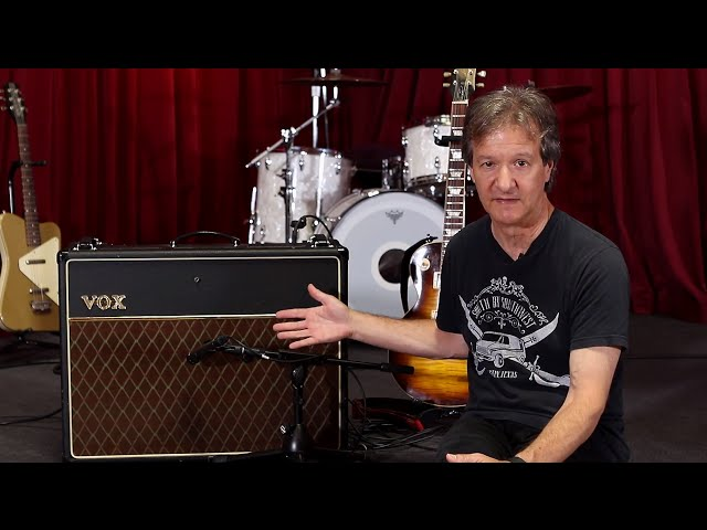 How to record an electric guitar amp - Part 1 (Feat. Bob Clearmountain)