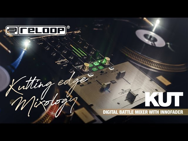 Reloop KUT - 2 Channel Battle FX DJ Mixer With USB Interface (Official Introduction)