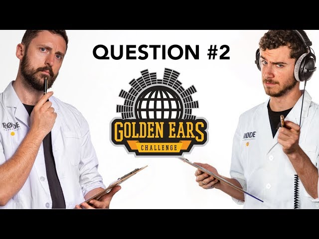 Which Clip Was Recorded With a VideoMic Pro? | 'Golden Ears' Challenge - Question 2