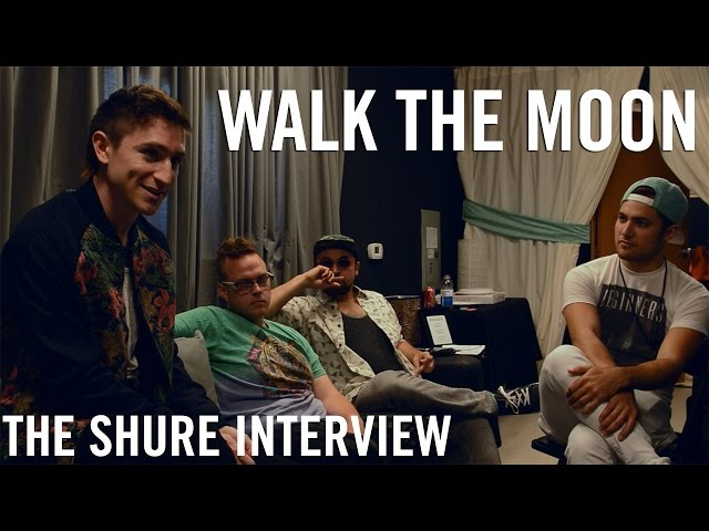 Walk The Moon - The Shure Interview